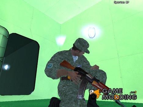 Пак HD оружий by Wake for GTA San Andreas