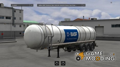 BASF Chemicals Tanker Final for Euro Truck Simulator 2