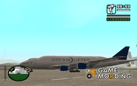 Boeing 747 Dream-Lifter для GTA San Andreas