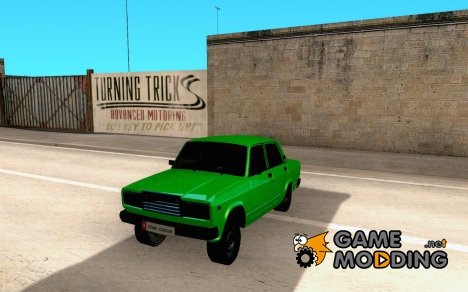 VAZ 2107 Avtosh Style for GTA San Andreas