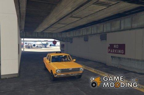ГАЗ-24 Такси для GTA 5