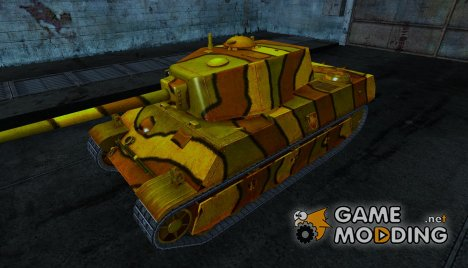 Шкурка для AMX M4 1945 для World of Tanks