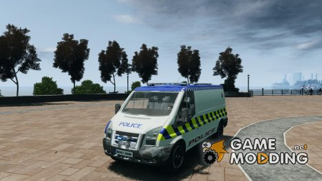 Ford Transit Polish Police for GTA 4
