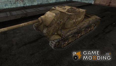 Шкурка для T25 AT от TetraPack для World of Tanks