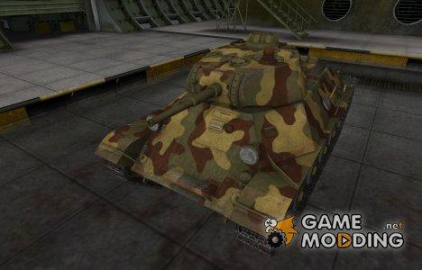 Исторический камуфляж Т-50 для World of Tanks