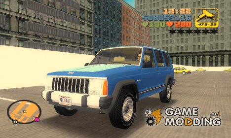 Jeep Cherokee XJ 1984 for GTA 3