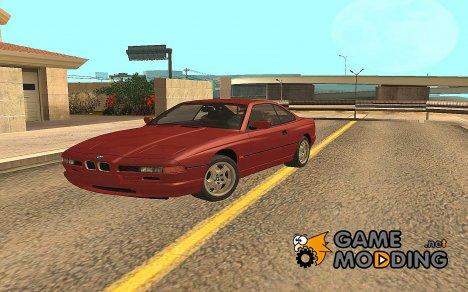 BMW E31 850CSi - Stock 1996 для GTA San Andreas