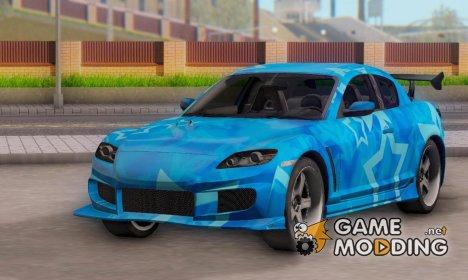 Mazda RX-8 VeilSide Blue Star for GTA San Andreas