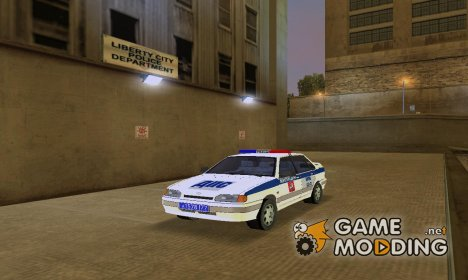 ВАЗ 2115 машина ДПС для GTA 3
