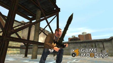 """Меч """"Черный рыцарь"""" для GTA 4"""