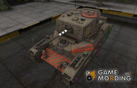 Качественные зоны пробития для Matilda Black Prince для World of Tanks