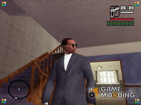 Чисто выбритый CJ для GTA San Andreas