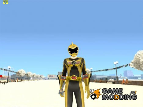 Power Rangers RPM Gold for GTA San Andreas
