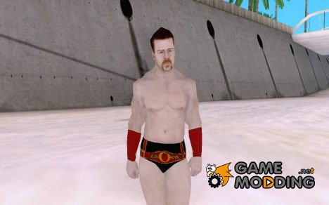 Sheamus Wii WWE'12 for GTA San Andreas