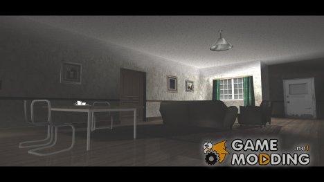 Новые текстуры дома CJ'я (Только интерьер) для GTA San Andreas