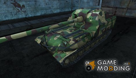 Шкурка для Объект 261 - Woodland для World of Tanks