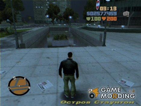 GTA 4 худ и радар для GTA 3
