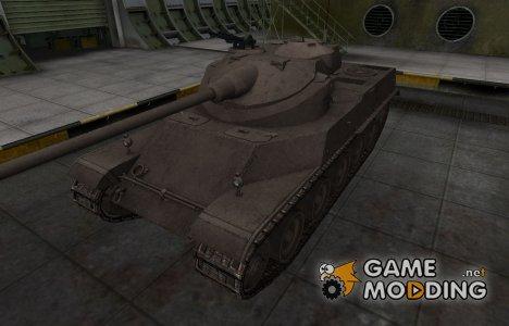 Перекрашенный французкий скин для AMX 50 100 for World of Tanks