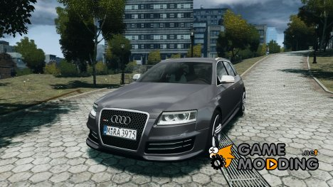 Audi RS6 Avant for GTA 4