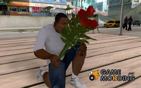 Bouquet of Roses for GTA San Andreas