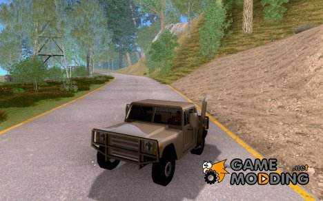 2-х местный Патриот для GTA San Andreas