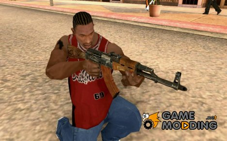 AKM for GTA San Andreas