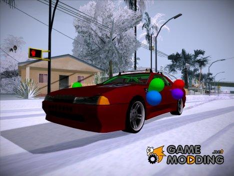 Праздничная Elegy для GTA San Andreas