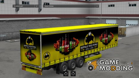 Buffalo Wild Trailer HD for Euro Truck Simulator 2