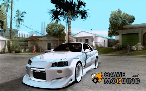 Nissan Skyline R34 Veilside street drag for GTA San Andreas