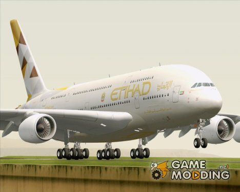 Airbus A380-800 Etihad Airways for GTA San Andreas