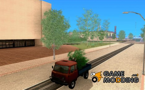 УАЗ-39095 Новогодний для GTA San Andreas