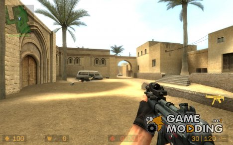 Reflex Mp5 w/LAM for Counter-Strike Source
