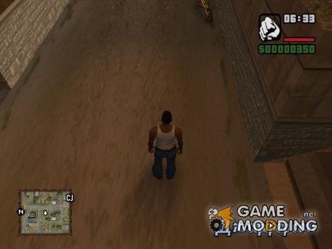 Квадратная Карта for GTA San Andreas