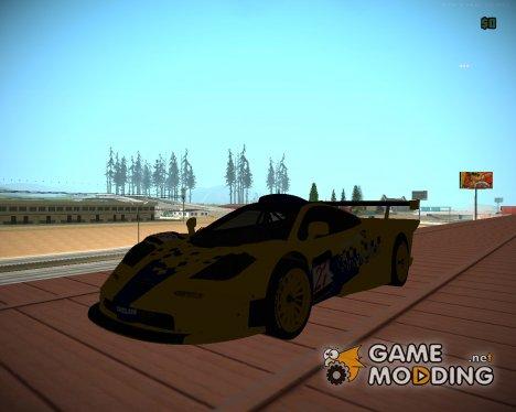 McLaren F1 GTR 1998 Parabolica для GTA San Andreas
