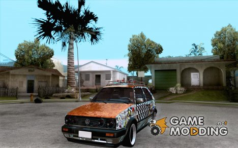 Volkswagen MK II GTI Rat Style Edition for GTA San Andreas