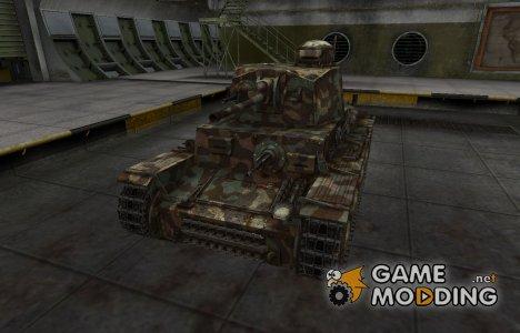 Горный камуфляж для PzKpfw 38 (t) для World of Tanks