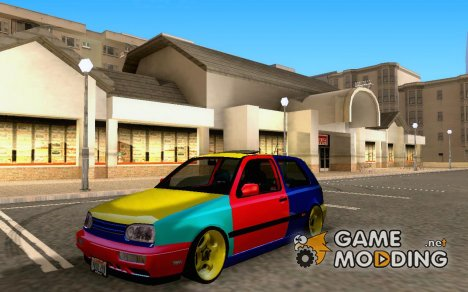 VW Golf MK3 Harlequin Edition для GTA San Andreas
