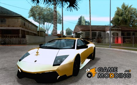 Lamborghini Murcielago LP 670/4 SV Fixed Version for GTA San Andreas
