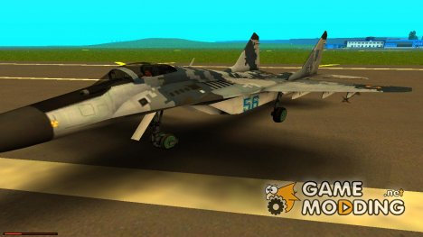 МиГ-29 Украинский Сокол for GTA San Andreas