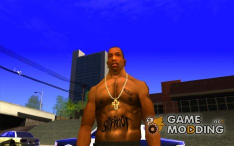 Slipknot tatoo для GTA San Andreas