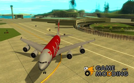 Airbus A380 800 Air Asia for GTA San Andreas