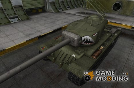 Шкурка для T34 hvy для World of Tanks
