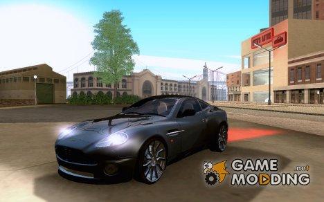 Aston Martin V12 Vanquish для GTA San Andreas