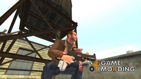 Пистолет-пулемёт UMP45 v.6 для GTA 4