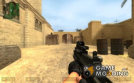 MP7A1 w/ Trijicon Reflex for Counter-Strike Source