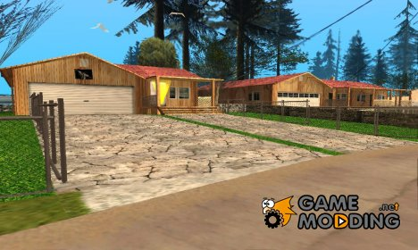 New houses in country and interior for GTA San Andreas