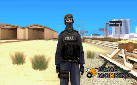HQ skin S.W.A.T for GTA San Andreas