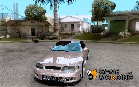 Nissan Skyline GTR 33 Fatlace for GTA San Andreas