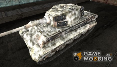 Шкурка дляTiger II для World of Tanks