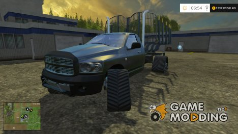 Dodge Log Tracked Car для Farming Simulator 2015